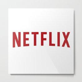 Netflix Logo Metal Print