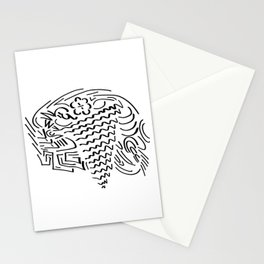 Ice Cream Overflow Stationery Cards