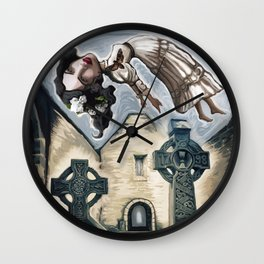 The Haunting of Burrishoole Abbey Wall Clock