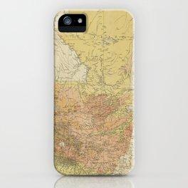 Vintage Map of Guatemala (1902) iPhone Case