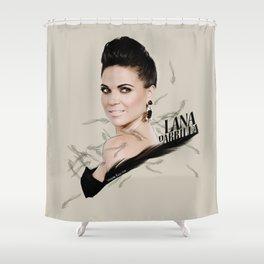 Lana Parrilla Shower Curtain