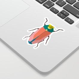Happy beetles Sticker