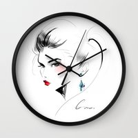 gem Wall Clocks featuring Gem by putemphasis