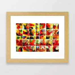 Quilt Framed Art Print