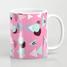 Painted minimal bright nursery pattern polka dots pattern Coffee Mug