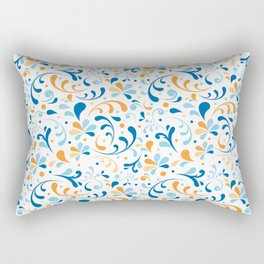 Paisley Swirly Rectangular Pillow