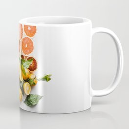 Lemon orange leaf Coffee Mug