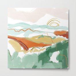 Sunrise Appalachia Metal Print