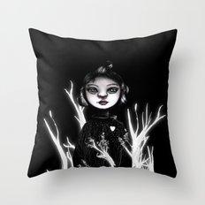 Forest Heart Throw Pillow