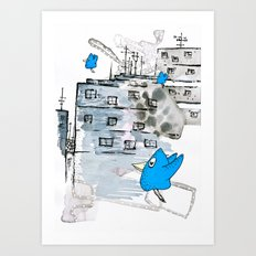 Tschiep Art Print