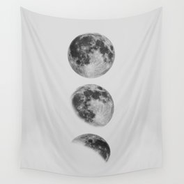 Moon Phase Wall Art Moon Home Decor Moon Phases Nursery Decor Poster Minimalist Print Gothic Boho Wall Tapestry