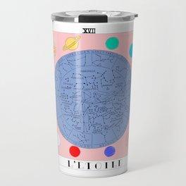 l'etoile - the star tarot card Travel Mug