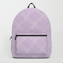 Double Helix - Light Purples #367 Backpack