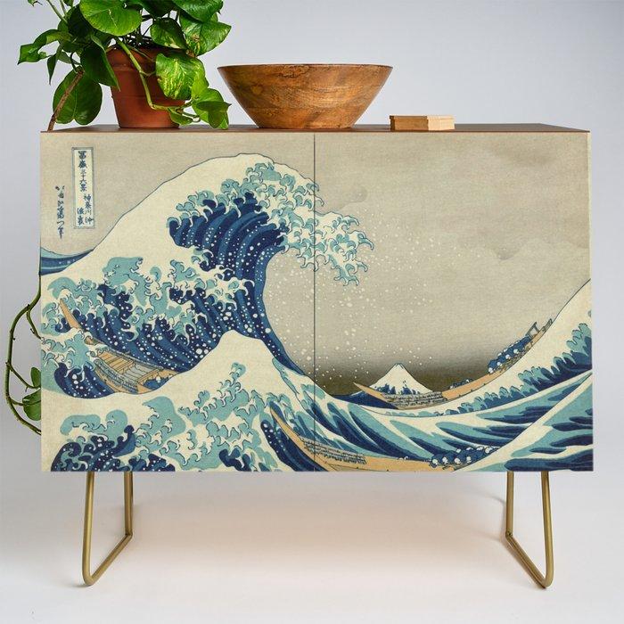 The_Great_Wave_off_Kanagawa_Credenza_by_Palazzo_Art_Gallery__Gold__Walnut