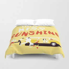THE ROAD TO MISS  SUNSHINE Duvet Cover