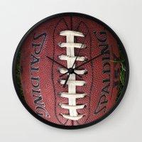 dragon ball Wall Clocks featuring Ball by eARTh