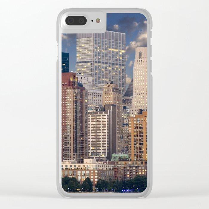 New York Manhattan Clear iPhone Case