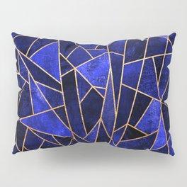 Shattered Sapphire Pillow Sham