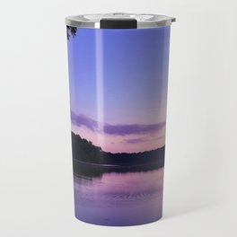 Benson Lake Purple Sky Travel Mug