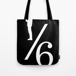One Sixth Ism (White Logo) Tote Bag