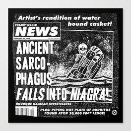 Freaky World News 2 Canvas Print