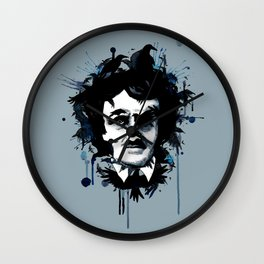 Edgar Allan Crow Wall Clock