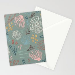 Deep-sea Treasures Stationery Cards