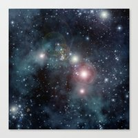outer space Canvas Prints featuring Outer Space by apgme