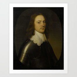 Gerard van Honthorst - Portrait of an Officer Art Print