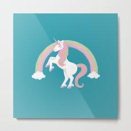 It's magic! Unicorn Metal Print