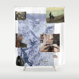 """Lust for Life"" Shower Curtain"