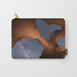 Double Arch in Arches National Park 2 Carry-All Pouch