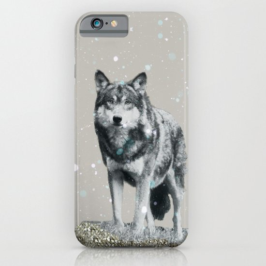 SNOW WOLF iPhone & iPod Case