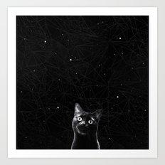 hello, stars! Art Print