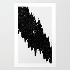 Pixelhole Art Print