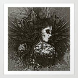 DARK POETRY Art Print