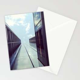 where I end and you begin II Stationery Cards