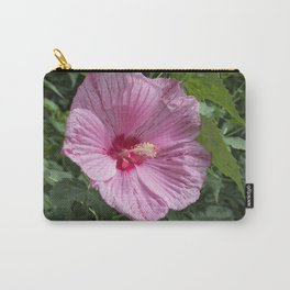 Bright Hibiscus Carry-All Pouch