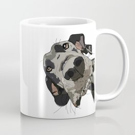 Great Dane dog in your face Coffee Mug