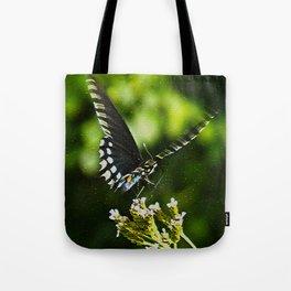 Flattering Flutter Tote Bag