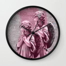 Fallen Angels angelic Wall Clock