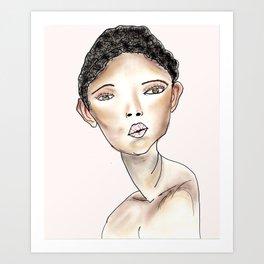 Bonnie Art Print