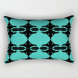 Ethno design blocks Rectangular Pillow