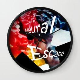 Neural Escape Wall Clock