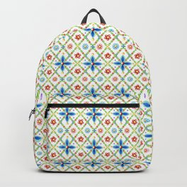 Millefiori Heraldic Lattice Backpack