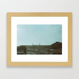 Have you seen my fish? Framed Art Print