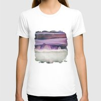 northern lights T-shirts featuring Northern Lights by SpaceFrogDesigns