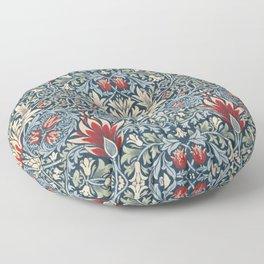 Snakeshead William Morris Textile Pattern Floor Pillow