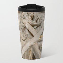 Cross of Calvary Travel Mug