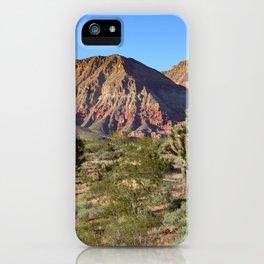 Cedar Pocket, Virgin River Gorge, AZ iPhone Case